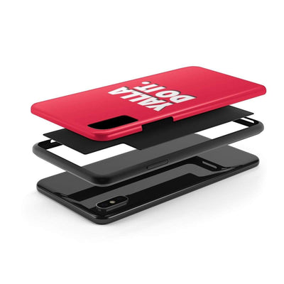 Phone Case Yalla Do it - Red Case Mate Tough Phone Cases