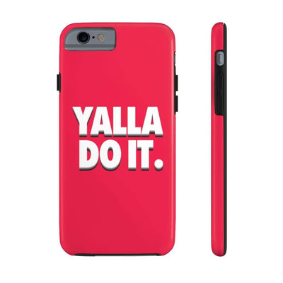 Phone Case iPhone 6/6s Tough Yalla Do it - Red Case Mate Tough Phone Cases