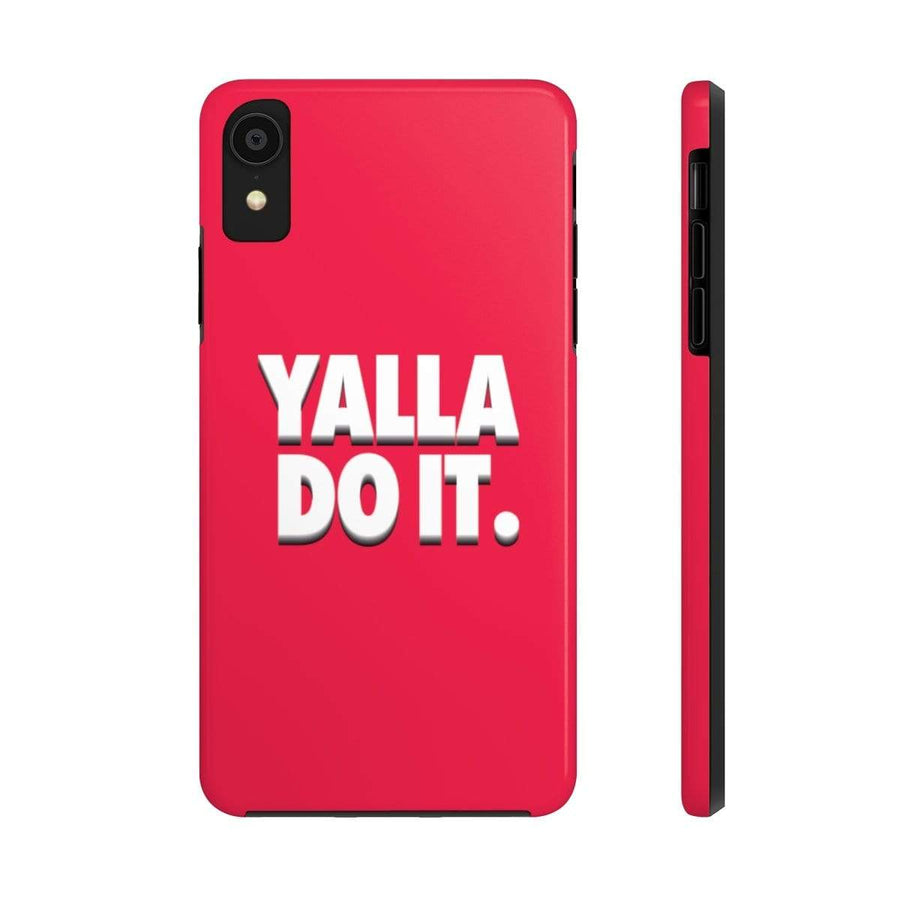Phone Case iPhone 11 Pro Yalla Do it - Red Case Mate Tough Phone Cases