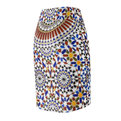 Skirts Moroccan Women's Pencil Skirt