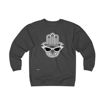 Sweatshirt Charcoal Heather / S Cool Eye Unisex Heavyweight Fleece Crew