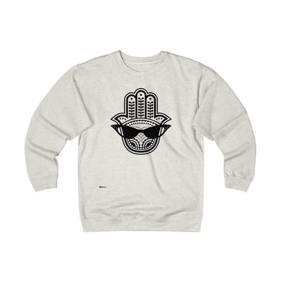 Sweatshirt Oatmeal Heather / S Cool Eye Unisex Heavyweight Fleece Crew