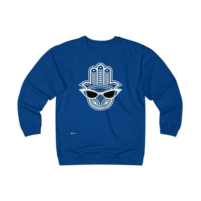 Sweatshirt Royal / L Cool Eye Unisex Heavyweight Fleece Crew