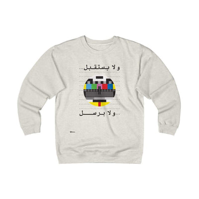 Sweatshirt Oatmeal Heather / S No Signal Unisex Heavyweight Fleece Crew