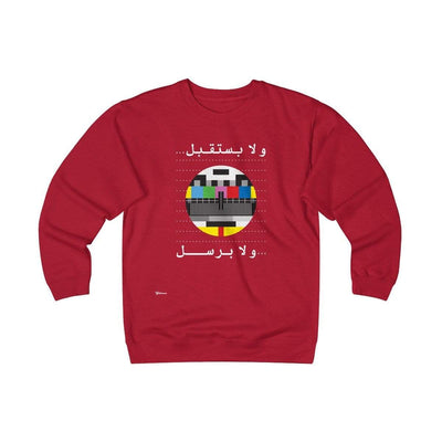 Sweatshirt Red / S No Signal Unisex Heavyweight Fleece Crew
