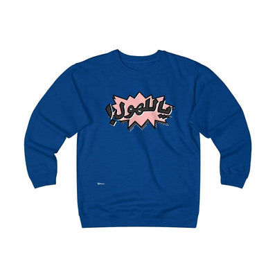 Sweatshirt Royal / S OMG - Pink Unisex Heavyweight Fleece Crew