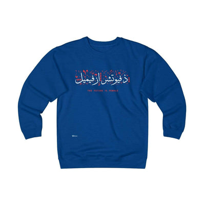 Sweatshirt Royal / S The Future is Female Unisex Heavyweight Fleece Crew