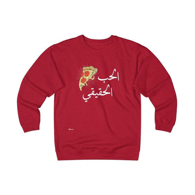 Sweatshirt Red / S True Love Unisex Heavyweight Fleece Crew