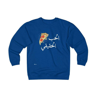 Sweatshirt Royal / S True Love Unisex Heavyweight Fleece Crew