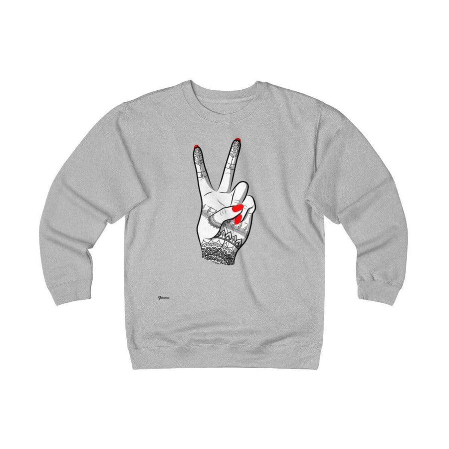 Sweatshirt Red / L Viva Unisex Heavyweight Fleece Crew