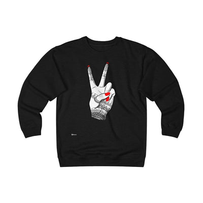 Sweatshirt Black / S Viva Unisex Heavyweight Fleece Crew