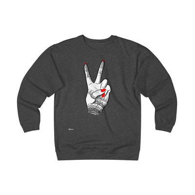 Sweatshirt Charcoal Heather / S Viva Unisex Heavyweight Fleece Crew