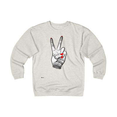 Sweatshirt Oatmeal Heather / S Viva Unisex Heavyweight Fleece Crew