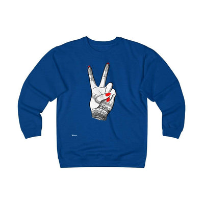 Sweatshirt Royal / S Viva Unisex Heavyweight Fleece Crew