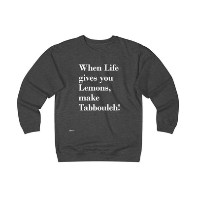Sweatshirt Charcoal Heather / S When Life Gives you Lemons Unisex Heavyweight Fleece Crew