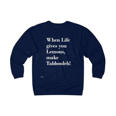 Sweatshirt Navy / S When Life Gives you Lemons Unisex Heavyweight Fleece Crew