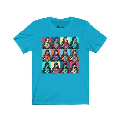 T-Shirt Turquoise / S Nomada Diptych Unisex Tee