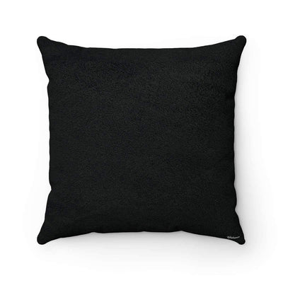 Throw Pillows Arabic Alphabet Faux Suede Square Pillow Case