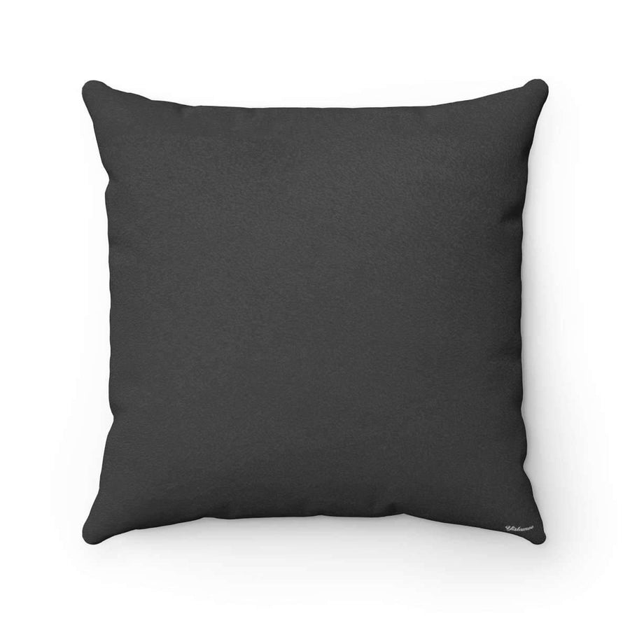 Throw Pillows 14x14 Bedouin Scarf in Black Pillow Case