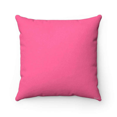 Throw Pillows Bedouin Scarf in Pink Pillow Case