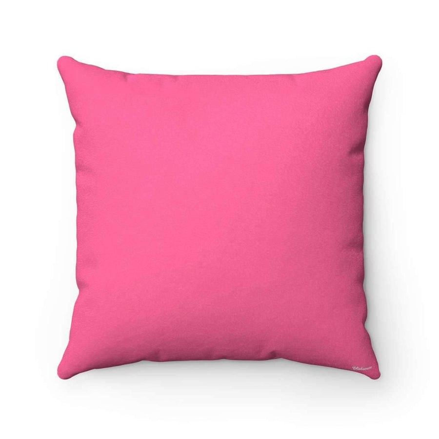 Throw Pillows 14x14 Bedouin Scarf in Pink Pillow Case
