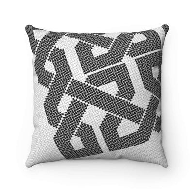 Throw Pillows 14x14 Black & White Pillow Case
