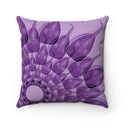 Throw Pillows 14x14 Oud in Crocus Petal Pillow Case