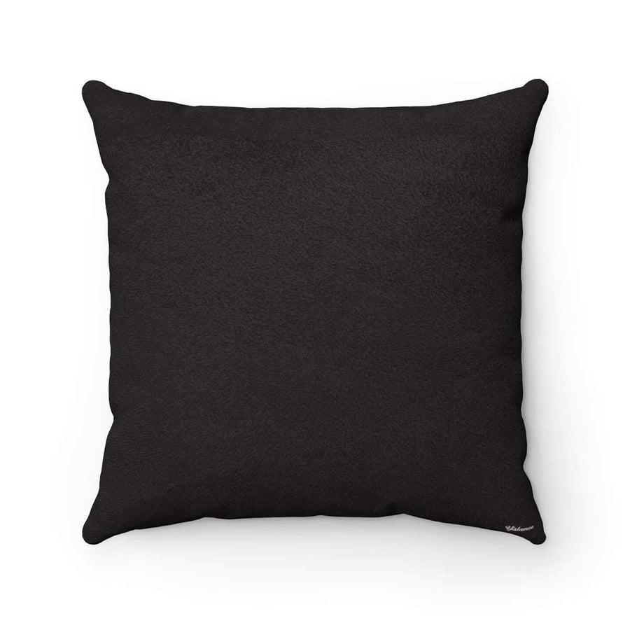 Throw Pillows 14x14 Salam | Peace Pillow Case -Black
