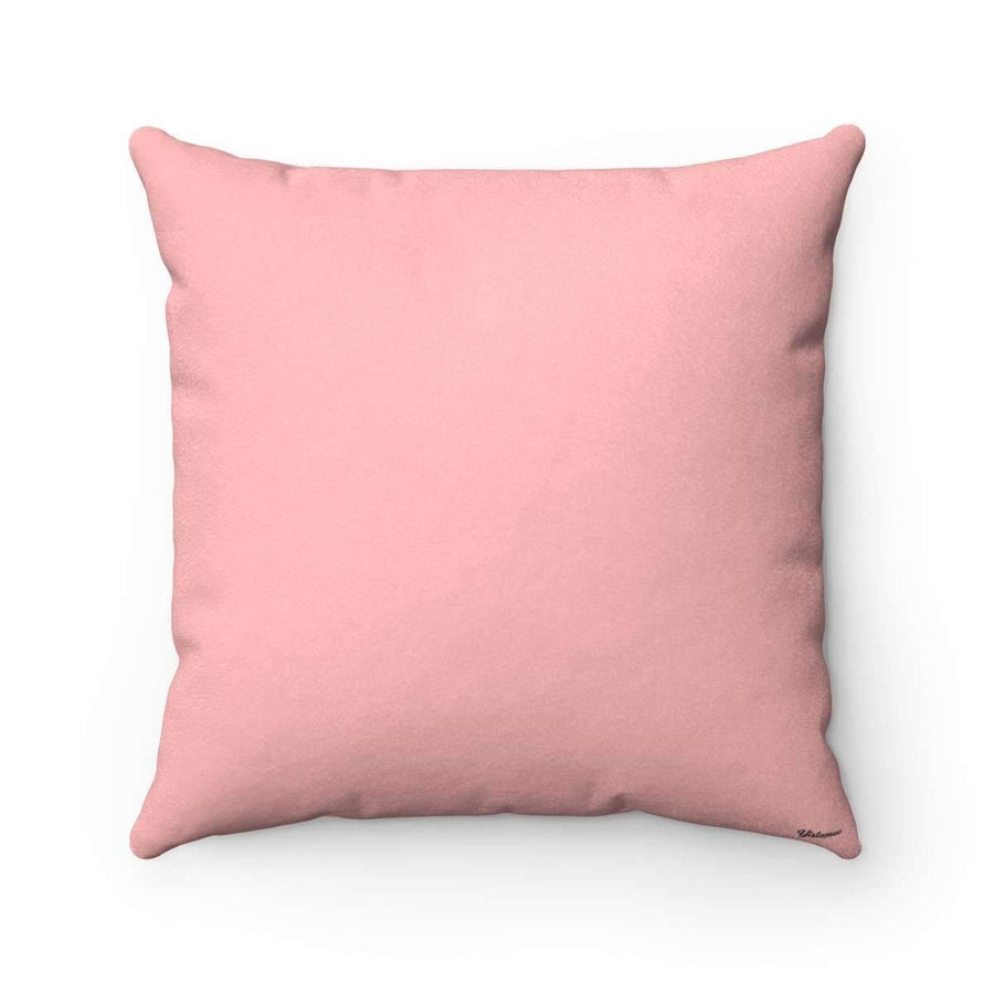 Throw Pillows 14x14 Salam | Peace Pillow Case -Pink