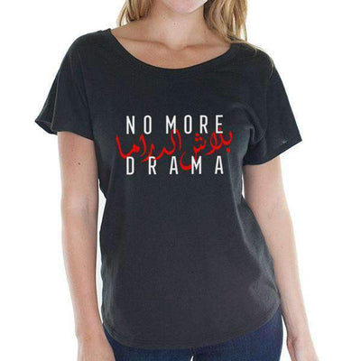 Top No More Drama - Tri-Blend Top