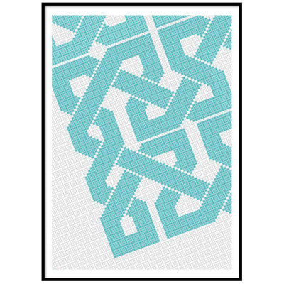 Wall Art Azure Wall Art Grid