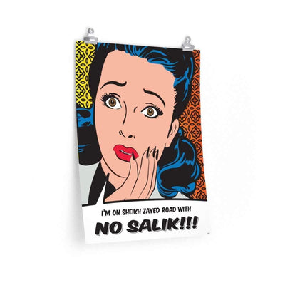"Wall Art 18""— 24"" / CG Matt No Salik Vintage Poster"