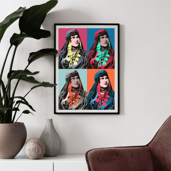 Wall Art Nomada Diptych Art Print