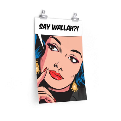 "Wall Art 12""— 18"" / CG Matt Say Wallah Wall Art"