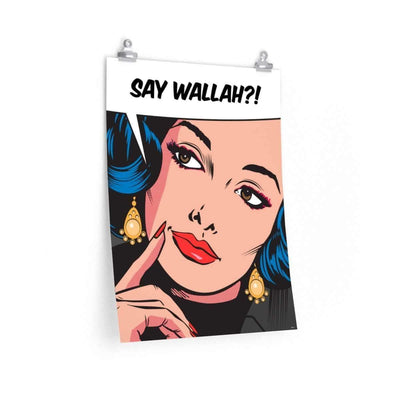 "Wall Art 18""— 24"" / CG Matt Say Wallah Wall Art"