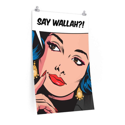 "Wall Art 24""— 36"" / CG Matt Say Wallah Wall Art"