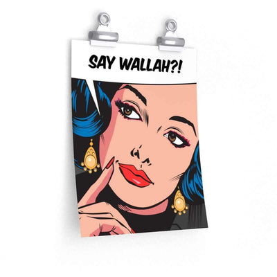 Wall Art Say Wallah Wall Art
