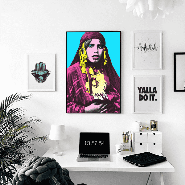 Wall Art The Bedouinista Wall Art Print