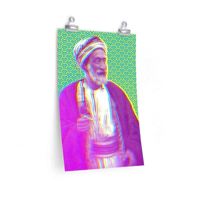 "Wall Art 12""— 18"" / CG Matt The Sheikh Art Print"