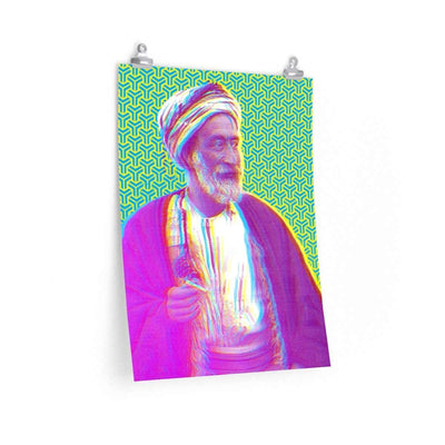 "Wall Art 18""— 24"" / CG Matt The Sheikh Art Print"
