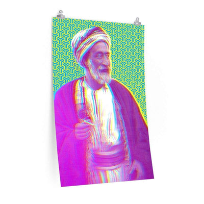 "Wall Art 24""— 36"" / CG Matt The Sheikh Art Print"