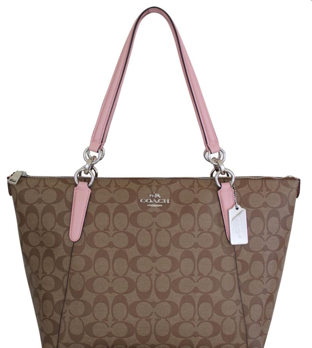 COACH Ava  Signature Zip Tote