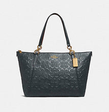 Signature Leather Debossed Ava Tote & Wallet
