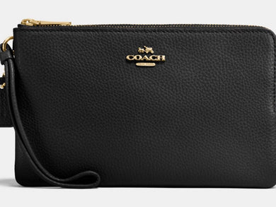 Wallet - COACH Double Zip