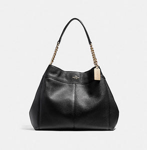Coach Pebble Leather Luxury Shoulder Bag
