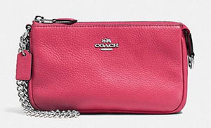 Wristlet - COACH Pebble Leather Large Wristlet Purse