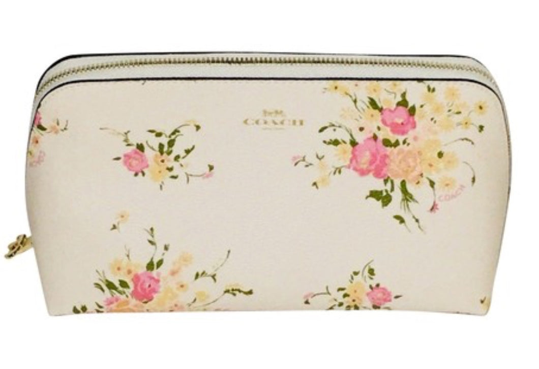 Coach Floral Bundle Cosmetic Bag