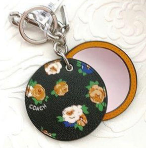 COACH Mirror Key Bag Charm