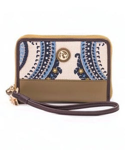 Wristlet - Juliette Wrist Leather  Wristlet  Wallet