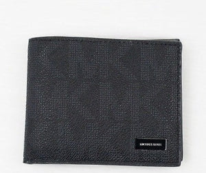 Michael Kors Jet Set Billfold Men's Wallet with Passcase  Black